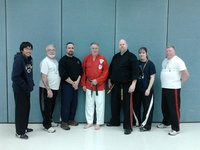 Mr. Talabo, Regis, Guro Mark, Dr. Reidner, me, Guro Theresa, and Bernie from our Jujitsu class